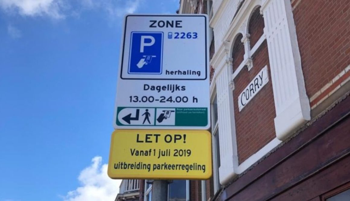 From the 1st of July, no more free parking